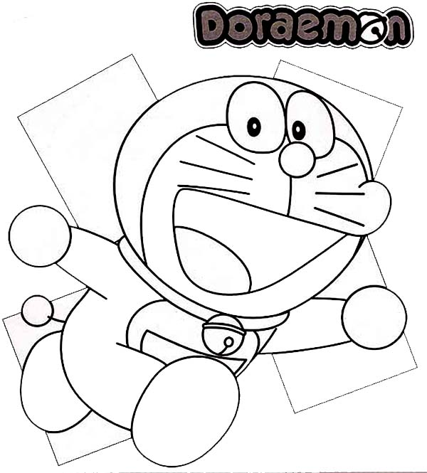 Doraemon and Dorami Coloring Pages for Kids Learn Drawing for ... | 665x600