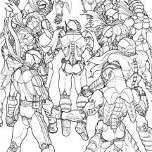 Sayonara Heisei Kamen Rider Coloring Page