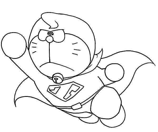 Super Doraemon Coloring Pages