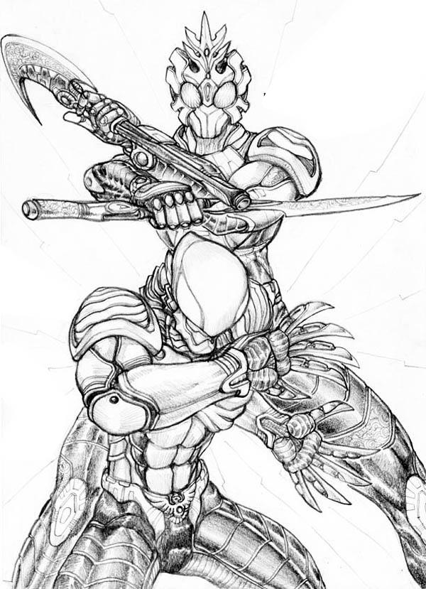 Super Hero Kamen Rider Coloring Page Netart