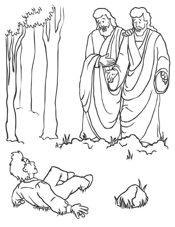 35 Joseph Smith First Vision Coloring Pages