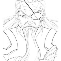 Zeus Brother Hades Coloring Page