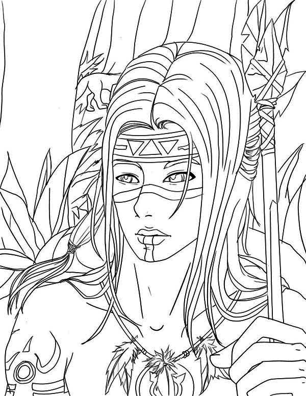 Native American Boy For Boys 3 - Friv Free Coloring Pages For ... | 777x600