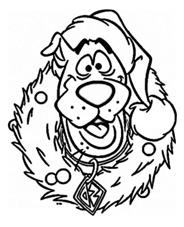 Funny Scooby Doo coloring pages for kids, printable free | coloing ... | 738x600