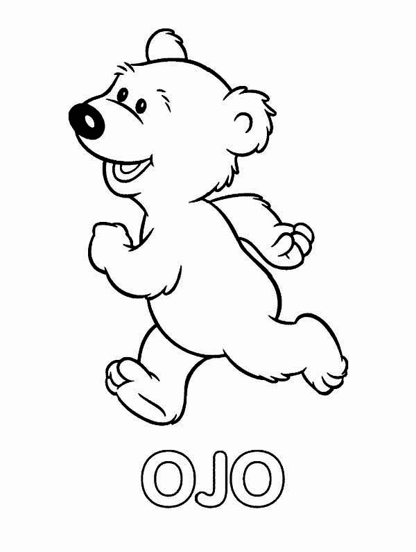 Bear inthe Big Blue House Friend Ojo Coloring Pages