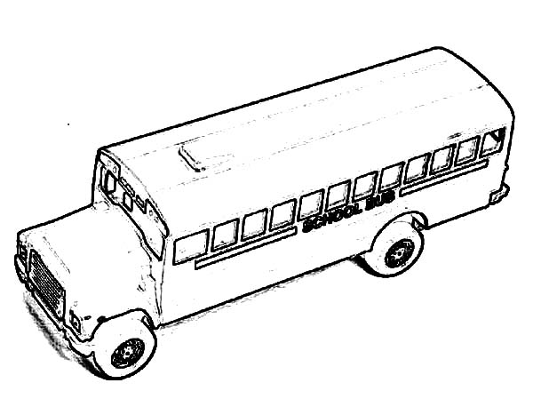 City School Bus Coloring Pages