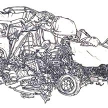 Crashed Cars Really Bad Coloring Pages
