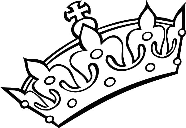 Crown Coloring Pages