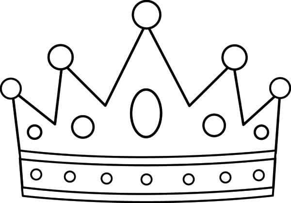 picture about Crown Coloring Pages Printable called Crown Design and style Coloring Webpages - NetArt
