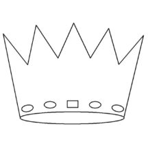 Crown Spreadsheet Coloring Pages