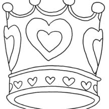 Crown of Love Coloring Pages