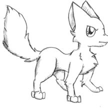 Desert Fox Standing Coloring Pages