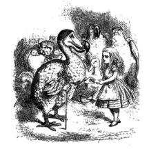 Dodo Bird Meet Alice Coloring Pages