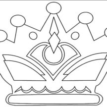 Drawing Crown Coloring Pages