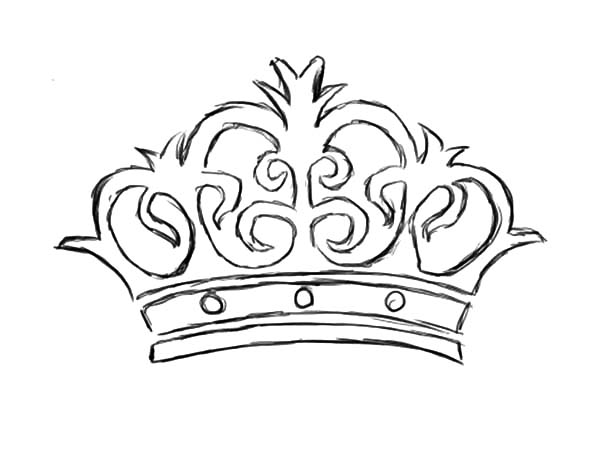 Picture of Crown Coloring Pages