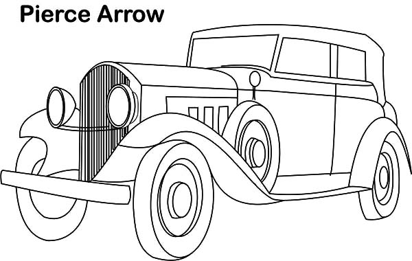 clic car coloring pictures