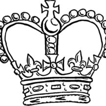 Pope Crown Coloring Pages