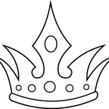 The Queen Crown Coloring Pages