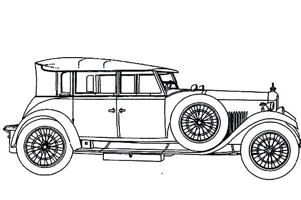 inspiring-and-memorable-design-of-a-classic-car-coloring ...