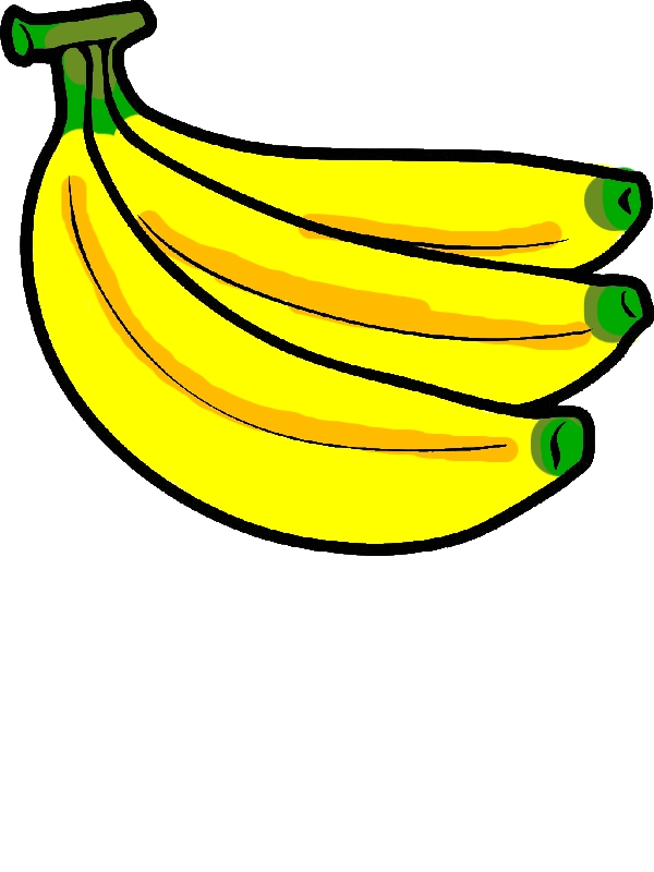 Banana Bunch Coloring Pages by years old Helen N  Reed