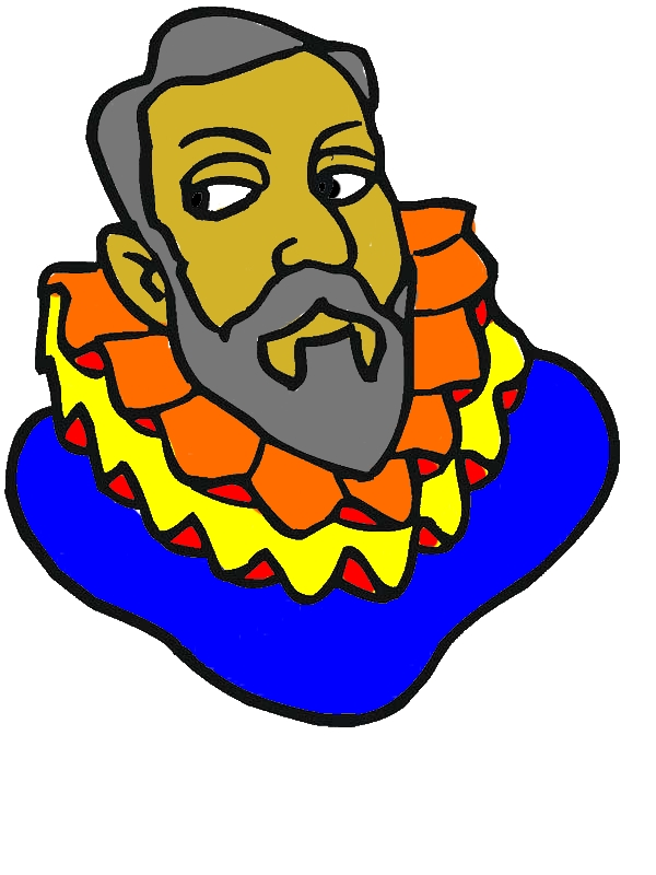 Columbus Head Figure On Columbus Day Coloring Page by years old Kurt M  Friedman