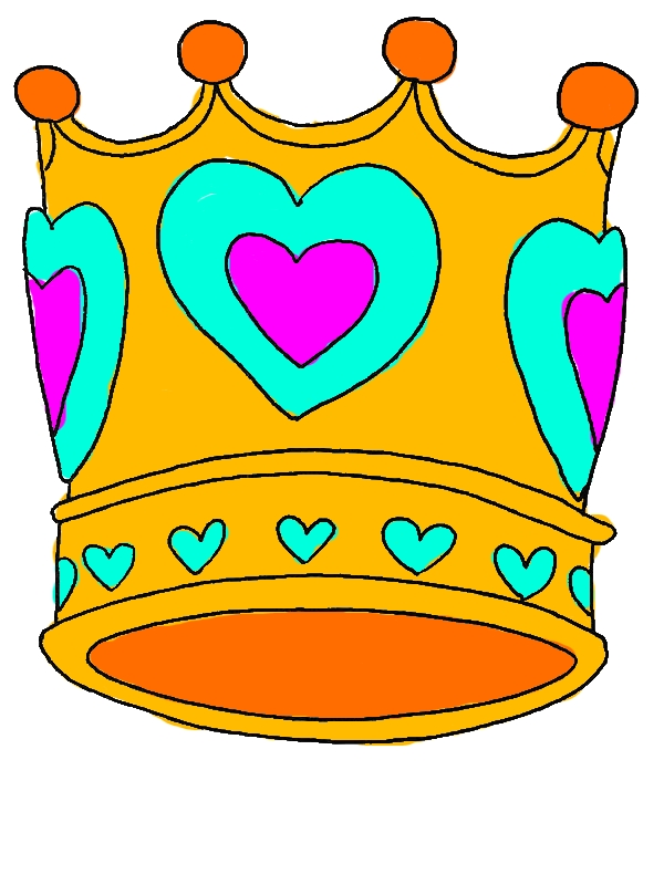 Crown of Love Coloring Pages by years old Kathrin W  Likens