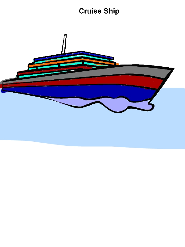 Cruise Ship Picture Coloring Pages by years old Natalya T  Conners