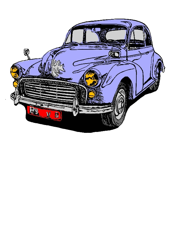 Drawing Classic Car Coloring Pages by years old Gerald P  Slape