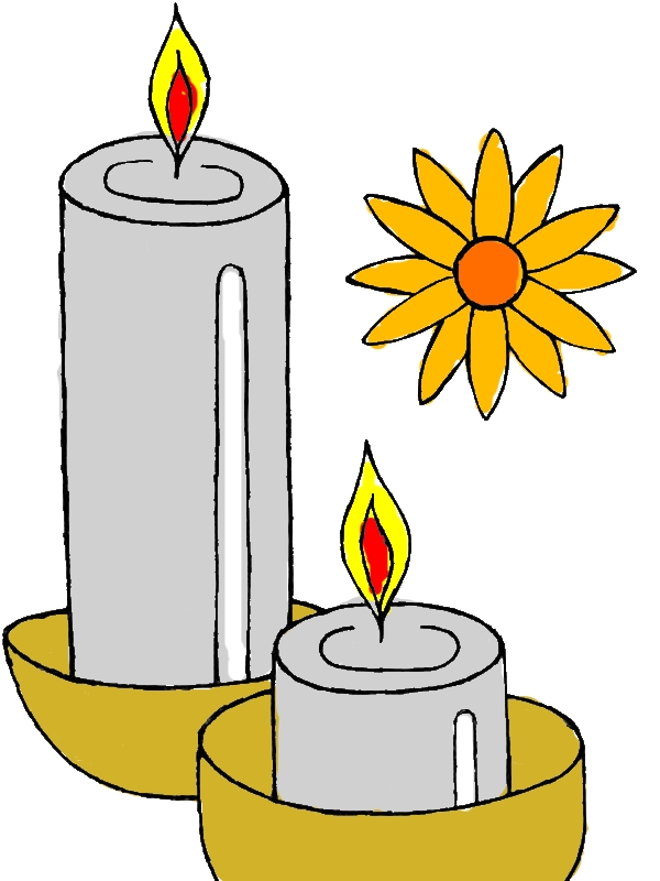 Light the Candles to Celebrate Diwali Coloring Page by years old Tonya D  Reimers