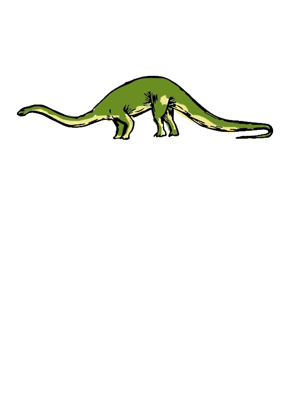 Prehistoric Animal Diplodocus Coloring Pages by years old Julian A  Warfel