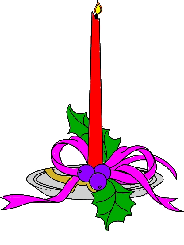 free coloring pages for christmas tall candle by years old Brandon T  Mosley